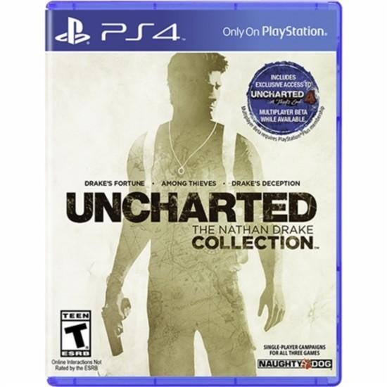 Uncharted: The Nathan Drake Collection (PS4) or MLB: The Show 16 (PS4) $19.99 ($15.99 w/ GCU) + Free Store Pickup