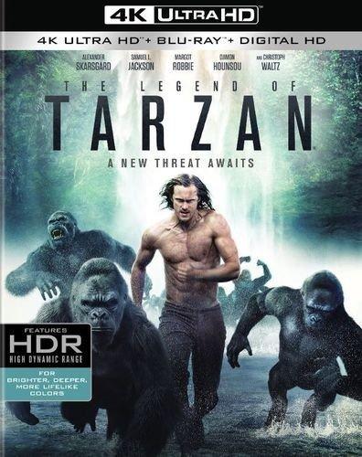 The Legend of Tarzan (4K Ultra HD + Blu-ray + Digital HD) $19.99 at bestbuy