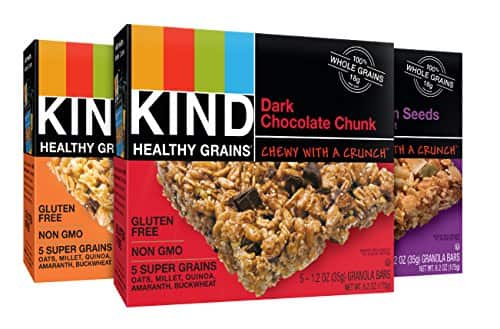 15-Count Kind Healthy Grains Granola Bars (Variety Pack)  $7.50 & More + Free Shipping