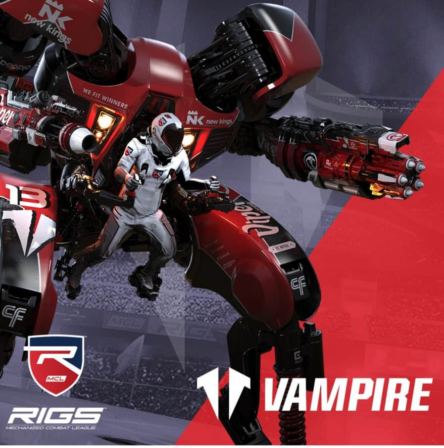 PSN: Rigs Mechanized Combat League Vampire Dynamic Theme (PS4)  Free