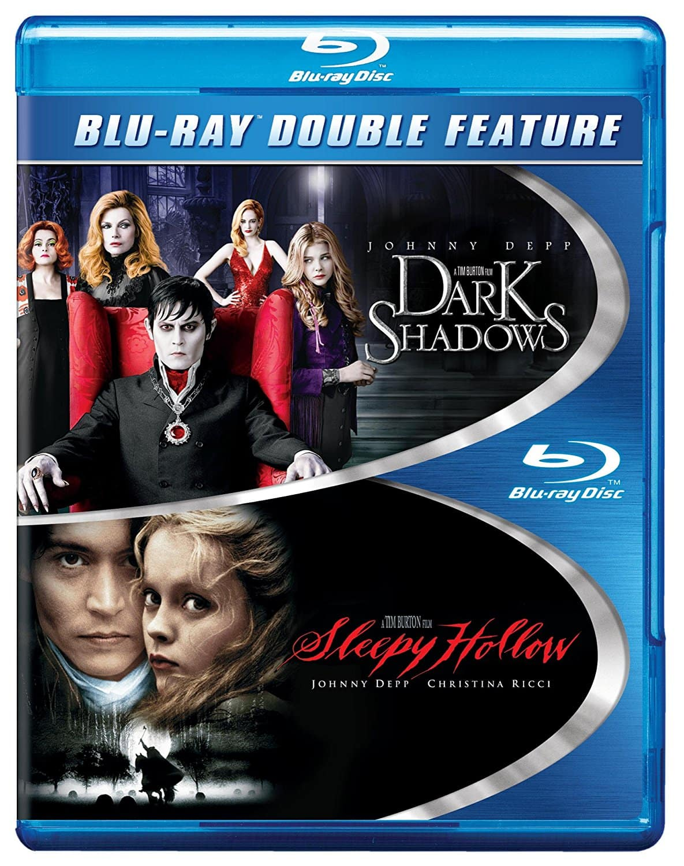 Dark Shadows / Sleepy Hollow Double Feature (Blu-ray) $5 @ Walmart & Amazon