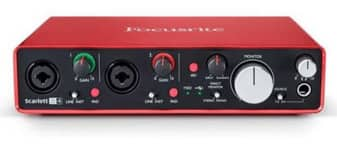 Focusrite Scarlett 2i4 (2nd Gen) USB Audio Interface with Pro Tools $140 + Free Shipping