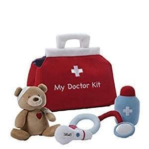 Gund My First Doctor's Kit 5-Piece Baby Playset $9.99 at Amazon