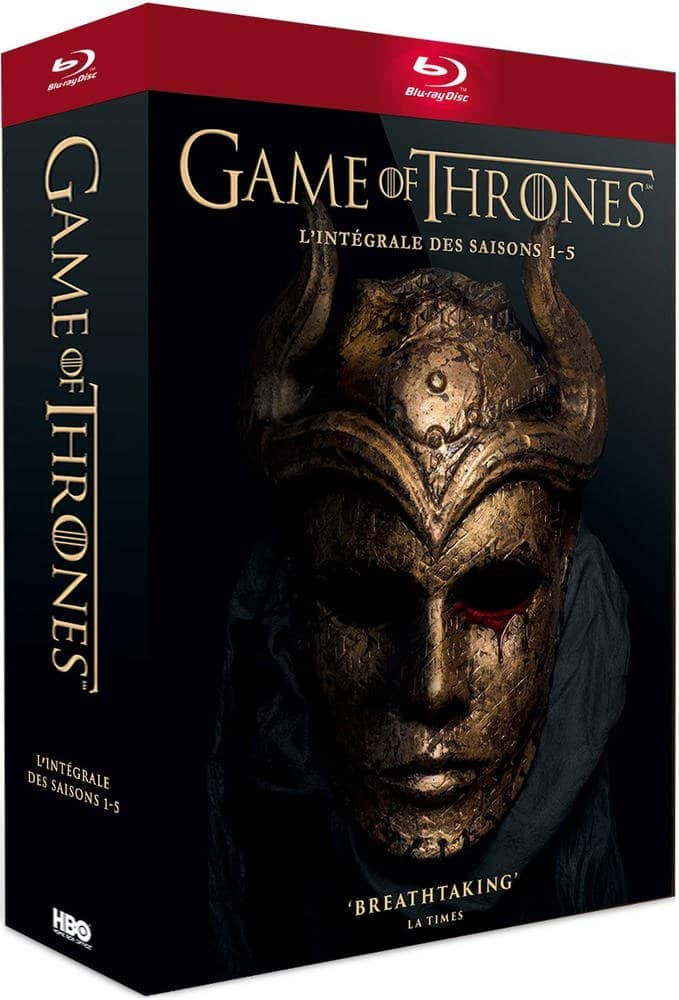 Region Free: Game of Thrones Seasons 1-5 (Blu-ray) $38
