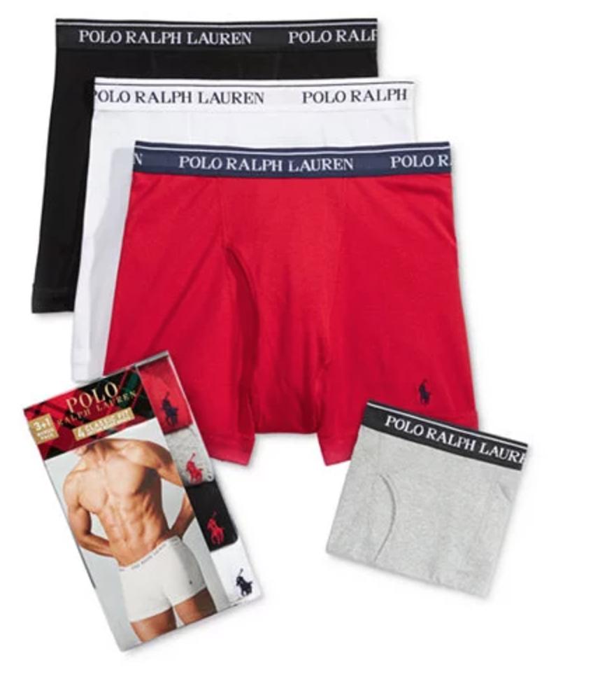 6d5bc482f251 ... 4-Pack Ralph Lauren Polo Crew-Neck Undershirts (colors) $20.29. Deal  Image; Deal Image. Deal Image
