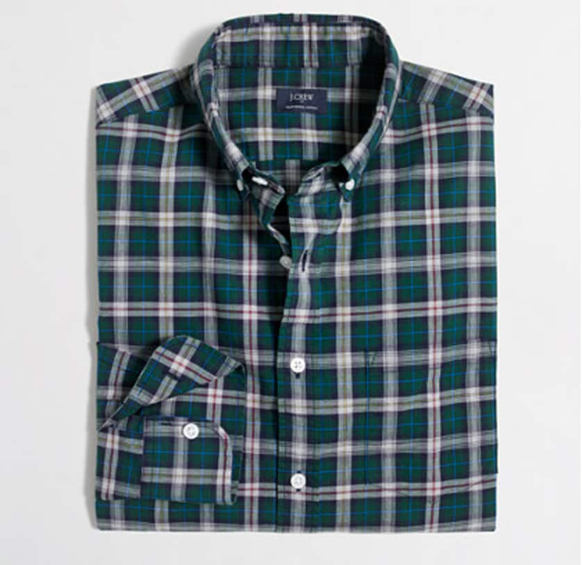 j crew factory 50 clearance s plaid shirts 10