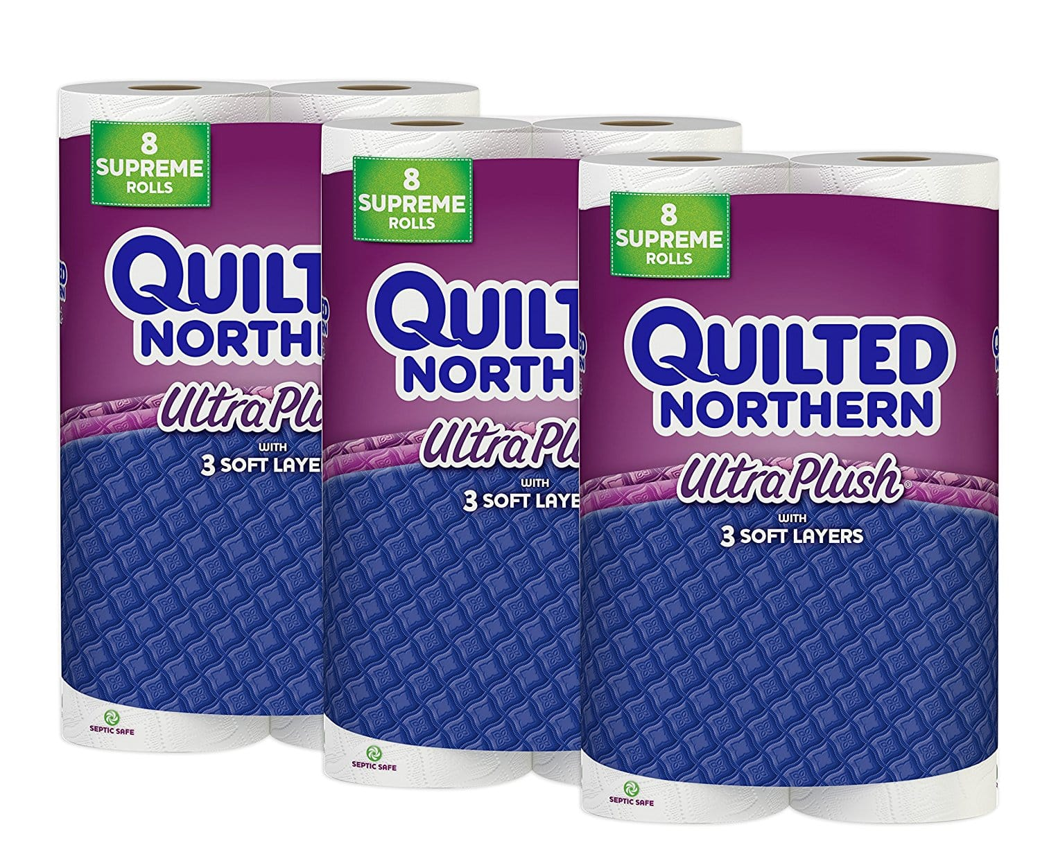 24 Count Quilted Northern Ultra Plus Supreme Roll Toilet