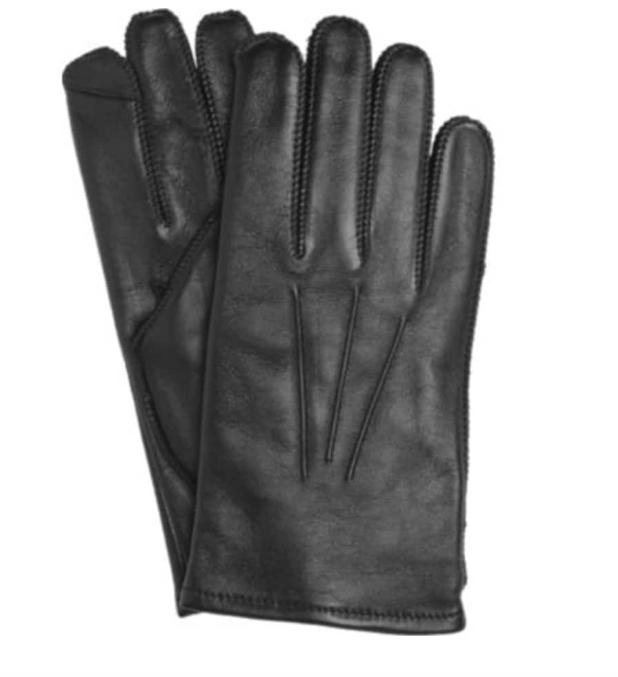 Jos. A. Bank Lambskin Thinsulate Leather Gloves (Black) $9.99 + Free Shipping