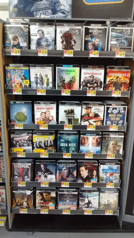 4K UHD: Expendables 3-film Collection or Divergent 3-film Collection $22.96 Each @ Walmart B&M YMMV