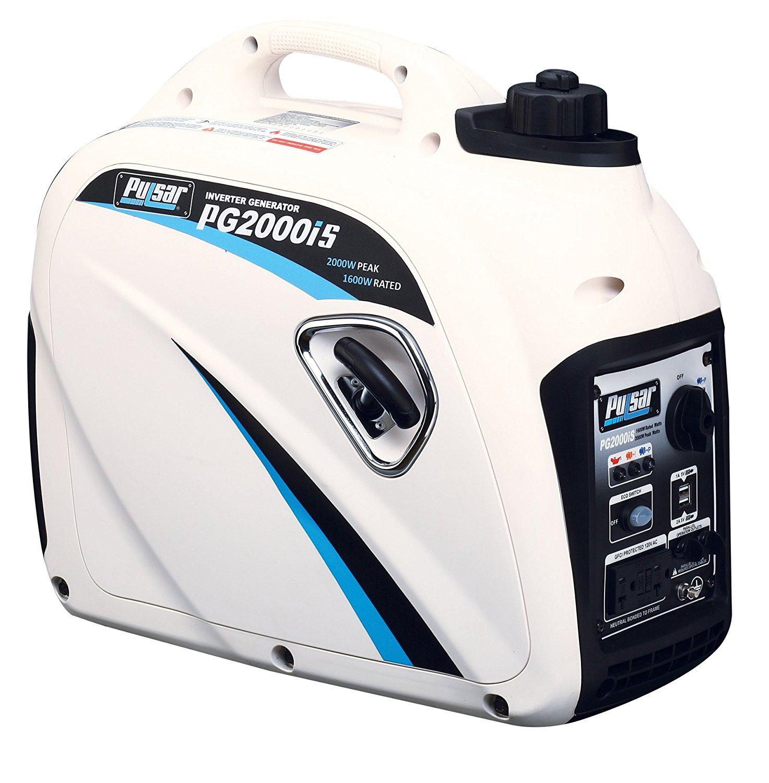 Pulsar 2000-Watt Portable Gasoline Inverter Generator $349.99 + Free Shipping