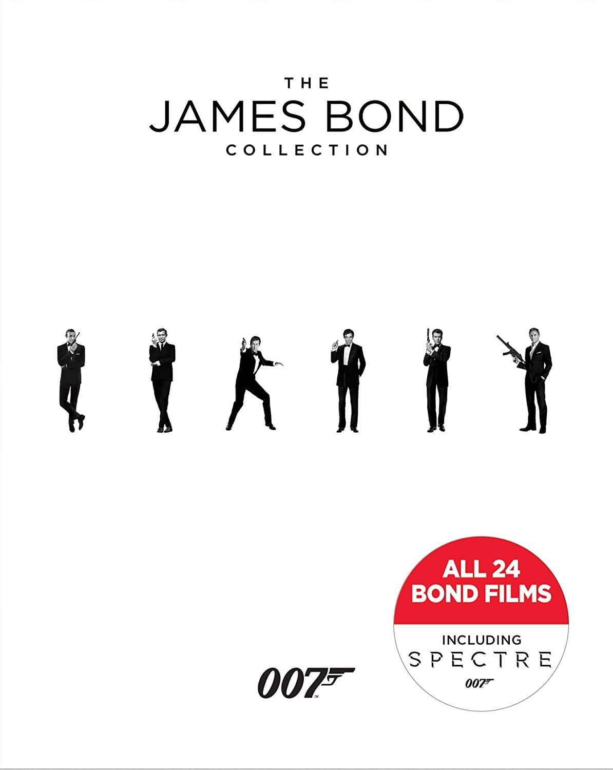 James Bond Collection: A Complete 24-Film Box Set (Blu-ray) $54.92 Shipped