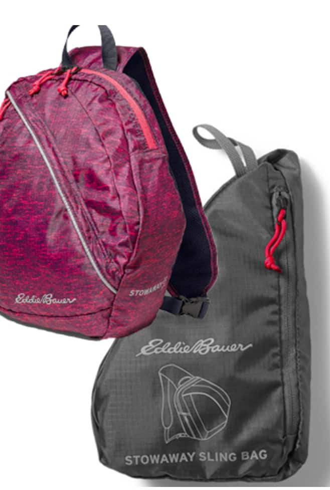 Eddie Bauer Stowaway 10L Packable Sling Bag $16.20   Free Shipping ...