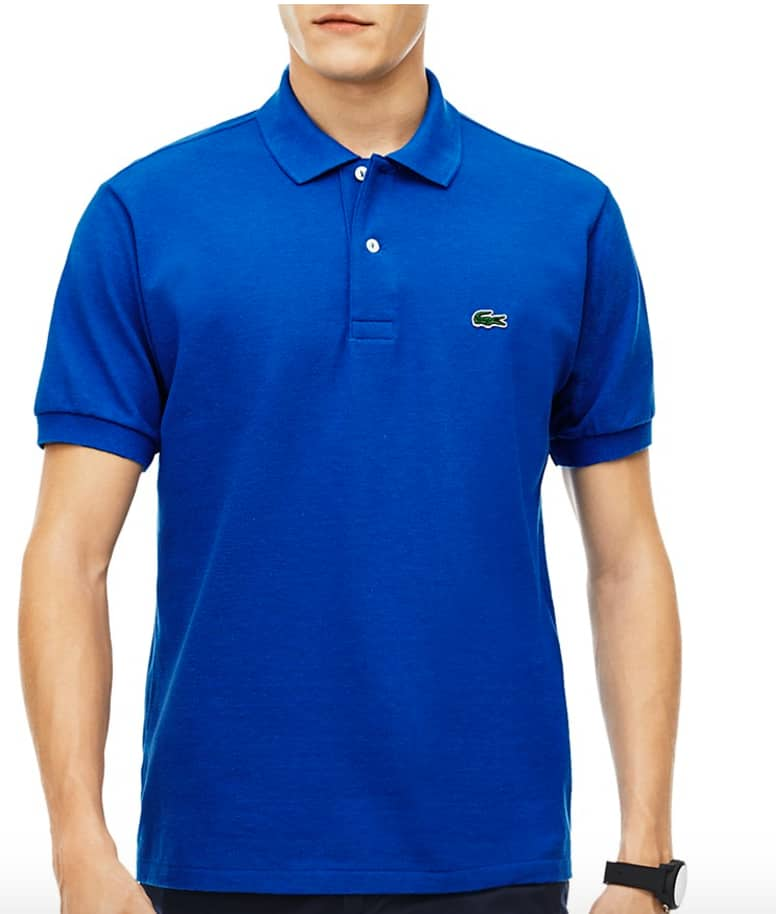 Lacoste Men's Classic Cotton Piqué Regular Fit Polo Shirt $26.85 + Free Shipping