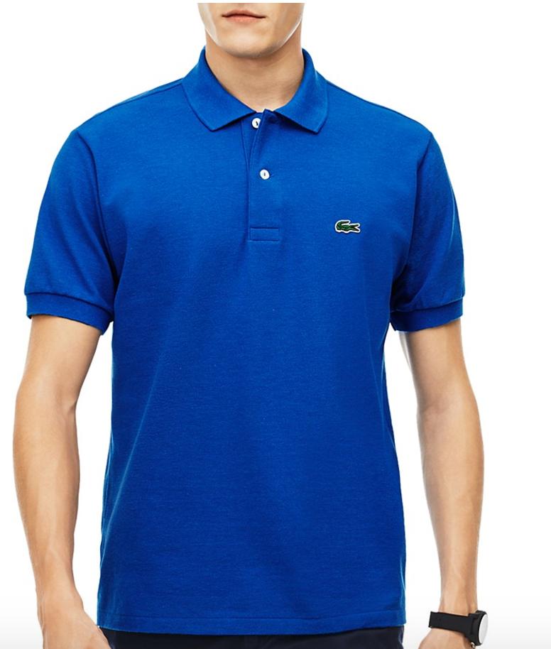 da3a693bab Lacoste Men's Classic Cotton Piqué Regular Fit Polo Shirt $26.85 + ...