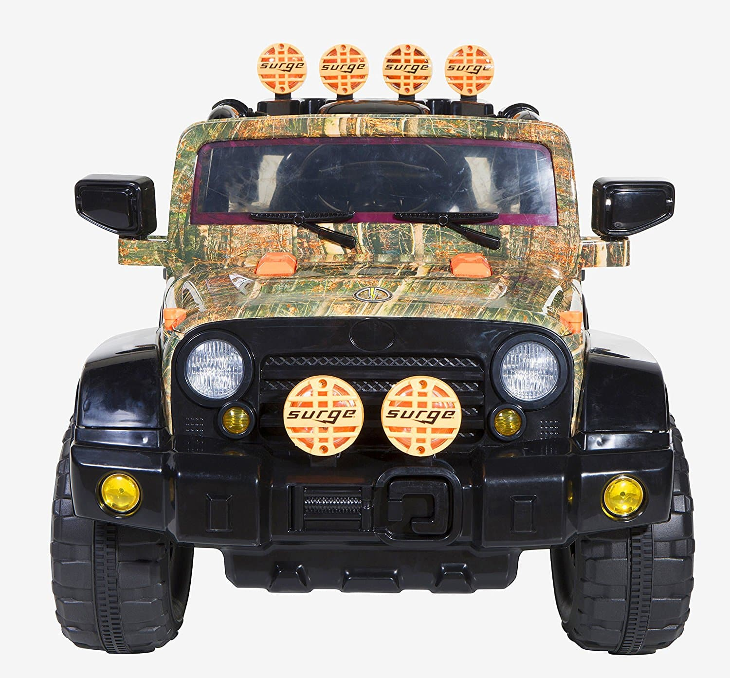 Dynacraft Surge Camo 6V 4X4 Battery Powered Ride-On $79 + Free Shipping