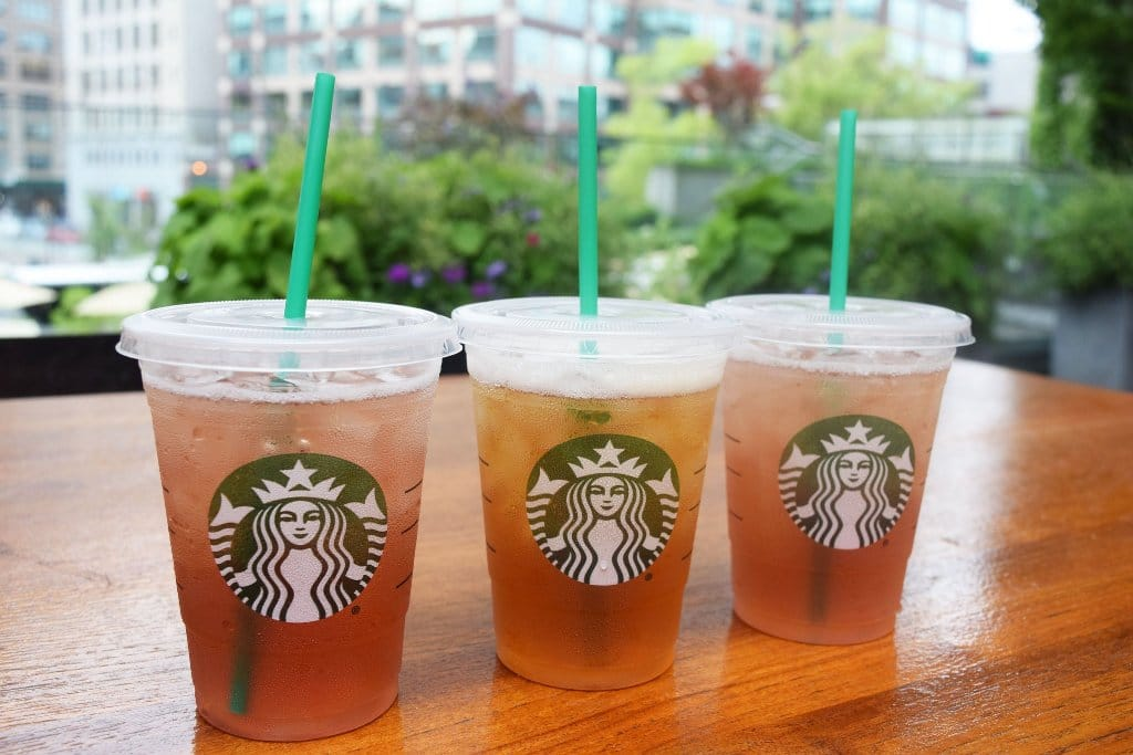 Target Cartwheel: Starbucks In-Store Cafes: Tea Infusions Beverages 50% Off (Target Stores)