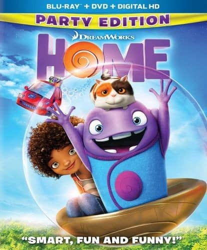 Home (Blu-ray + DVD + Digital HD) +  Boss Baby Lunch Box $7.99 & More + Free Store Pickup