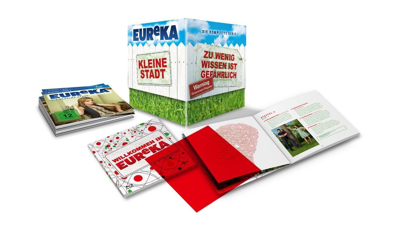 Eureka: The Complete Series (Region Free Blu-ray) $34 Shipped