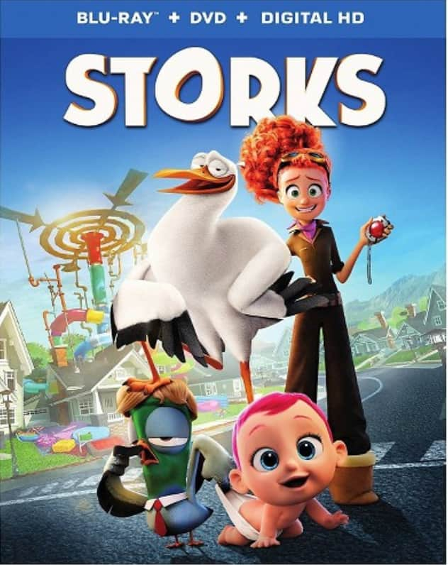 Target Red Card Holders: Storks (Blu-ray + DVD + Digital HD) $8.50 + Free Shipping