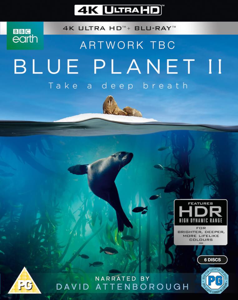 The Blue Planet II: Pre-Order (4K UHD + Blu-ray) $40 Shipped