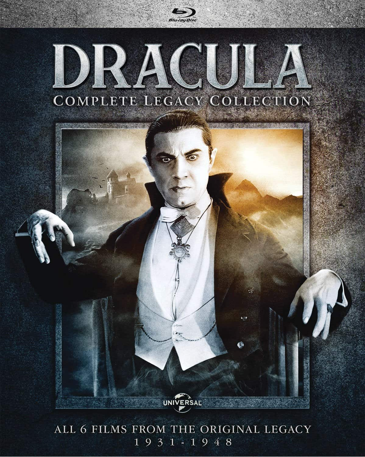 Target Stores: Dracula: Complete Legacy Collection Box Set (Blu-ray) $15.99