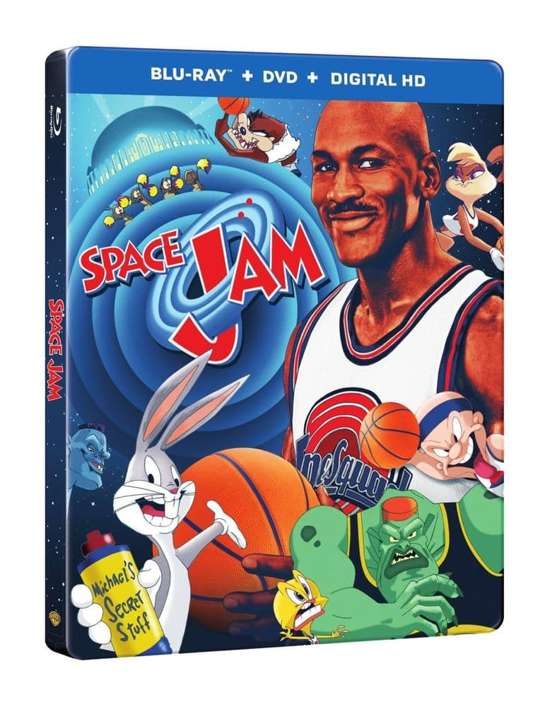 Space Jam: 20th Anniversary Steelbook (Blu-ray + DVD + Digital) $8.95 + Free Shipping (Or 3 x Steelbooks for $13.41)