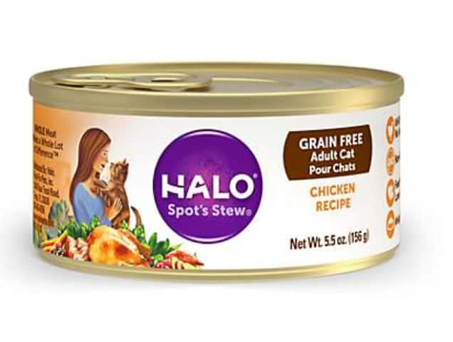 Petco Stores: Free 5.5-Oz Halo Spot's Stew Grain Free Canned Cat Food After Coupon *10/29*