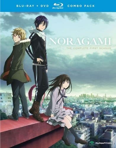 Anime: Noragami: The Complete First Season (Blu-ray + DVD) $23.99 & More + Free Store Pickup