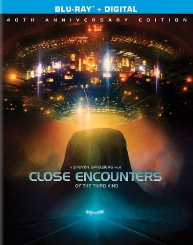Close Encounters of the Third Kind 40th Anniversary Ed. Director's Cut (Blu-ray + Digital HD) $9.99 + Free Shipping