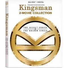 Kingsman 2-Movie Collection Pre-Order (Blu-ray + Digital HD) or Kingsman 2: The Golden Circle (4K Blu-ray + Blu-ray + Digital HD) $18 Each + Free Shipping
