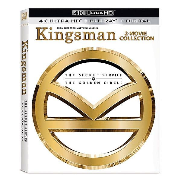 Kingsman 2-Movie Collection Pre-Order (4K Ultra HD + Blu-ray + Digital HD) $24.99 + Free Shipping