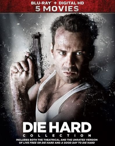 Die Hard: 5-Movie Collection (Blu-ray + Digital HD) $17.99 + Free Shipping