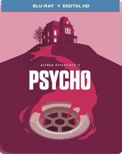 Psycho Limited Edition Steelbook 1960 (Blu-ray + Digital HD) $7.99 + Free Shipping