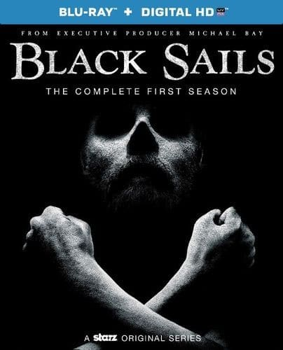 Black Sails: The Complete First Season or Season Two (Blu-ray + Digital HD) $6.99 Each + Free Shipping