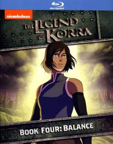 Legend of Korra: Book Four Balance (Blu-ray) $6.99 + Free Shipping