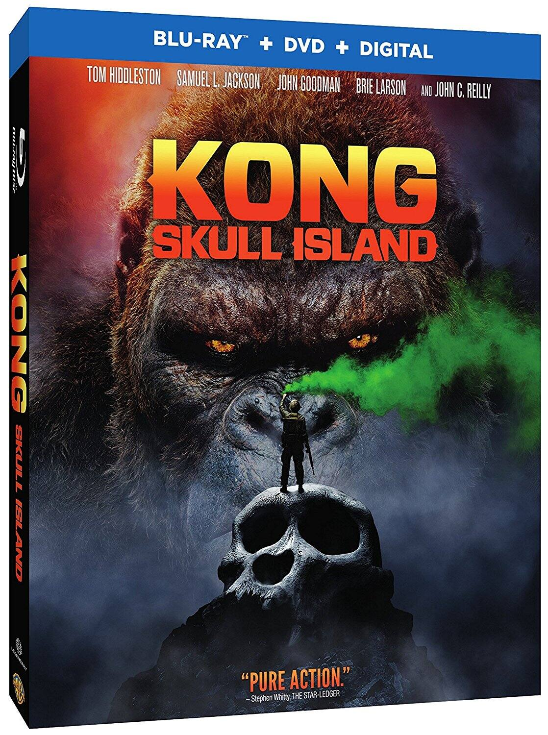 Kong: Skull Island (Blu-ray + DVD + Digital HD) $5.99 @ Amazon