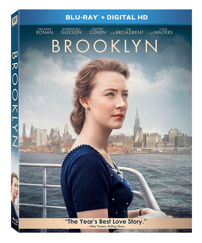 Brooklyn (Blu-ray + Digital HD) $4 @ Amazon