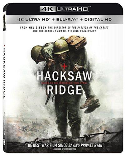 Hacksaw Ridge (4K Ultra HD + Blu-ray + Digital HD) $9.99 @ Amazon