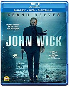 Add-On Item: John Wick (Blu-ray + DVD + Digital HD) $3.99 @ Amazon