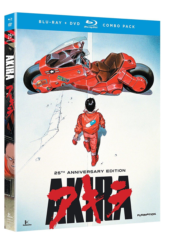 Akira: 25th Anniversary Edition (Blu-Ray/DVD Combo) $14.99 + Free Shipping