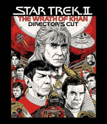 Star Trek II: The Wrath of Khan Director's Cut (Blu-ray) $6.35 @ Amazon