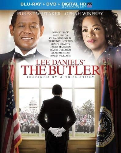 Lee Daniels' The Butler Target Exclusive (Blu-ray + DVD + Digital HD) $5 + Free Shipping