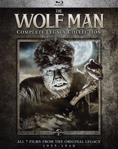 The Wolf Man: Complete Legacy Collection (Blu-ray) or Frankenstein: Complete Legacy Collection (Blu-ray) $16.99 Each @ Amazon