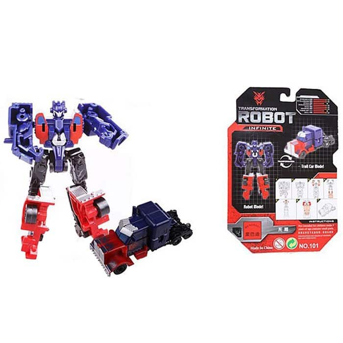 101 Mini Transformer Robot Model Toy Infinite for Children $0.66 + Free Shipping