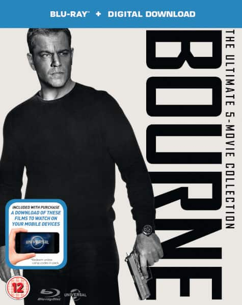 The Bourne Ultimate 5-Movie Collection (Region Free Blu-ray + Digital HD) $17.45 Shipped