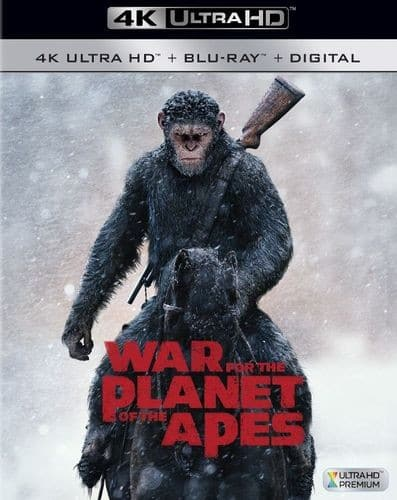 4K Ultra HD Blu-ray Movies: War for the Planet of the Apes or Alien: Covenant $9.99 Each + Free Shipping *12/12*