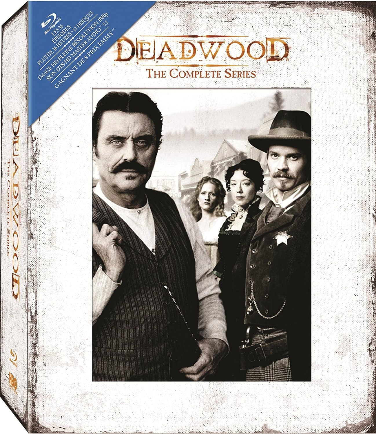 Deadwood: Complete Series (Blu-ray + Digital HD) $25.21 + Free Shipping