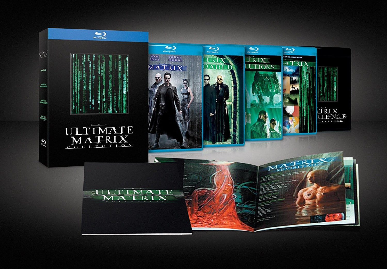 The Ultimate Matrix Collection (Used Like New Blu-ray) $10.39 @ Amazon