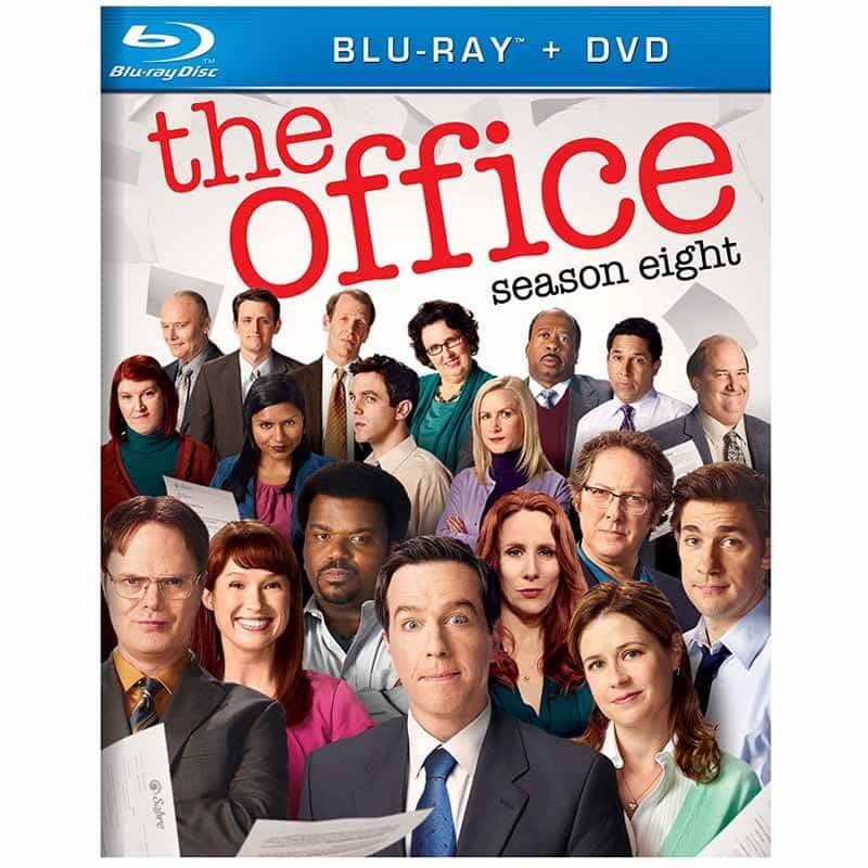 The Office: Season 8 (Blu-ray + DVD + Digital HD) or The Office: Season 5 (Blu-ray) $4.99 Each + Free Store Pickup @ Fry's