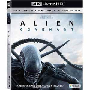 Fry's: Alien: Covenant (4K UHD + Blu-ray + Digital HD) $9.99 + Free Store Pickup